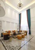 豪华型140平米别墅欧式风格客厅装修案例