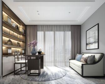 20万以上140平米别墅混搭风格书房设计图