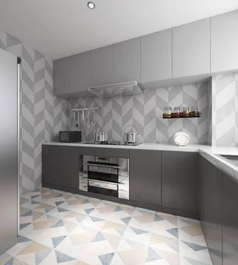 20万以上130平米三室两厅轻奢风格厨房图