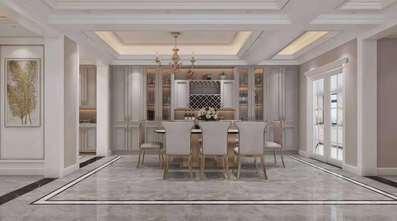 豪华型140平米别墅法式风格餐厅图