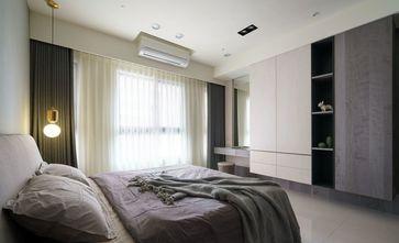 110平米三室一厅现代简约风格卧室欣赏图