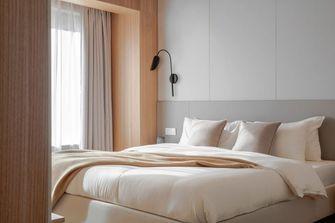 富裕型110平米三室一厅日式风格卧室装修图片大全