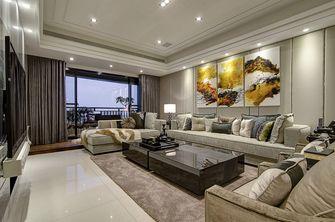 富裕型30平米以下超小户型轻奢风格客厅装修图片大全