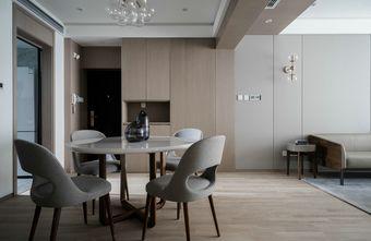 80平米现代简约风格餐厅图片大全