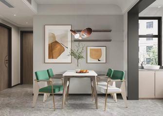 5-10万60平米一居室现代简约风格餐厅装修图片大全