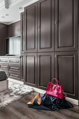 豪华型120平米三室两厅轻奢风格玄关图片
