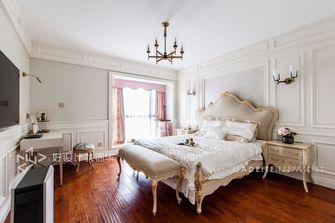 140平米三室两厅田园风格卧室图