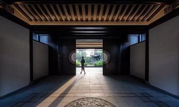 20万以上140平米四室两厅中式风格玄关图