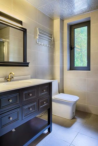 5-10万130平米三室一厅美式风格卫生间装修案例