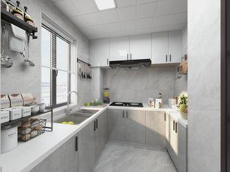 富裕型90平米三室一厅轻奢风格厨房装修案例