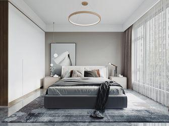 豪华型120平米三室两厅现代简约风格卧室效果图
