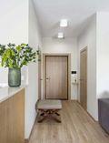 富裕型90平米一居室现代简约风格玄关装修图片大全