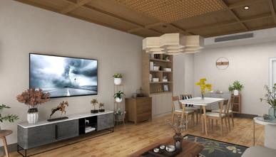 经济型70平米一室两厅日式风格客厅图