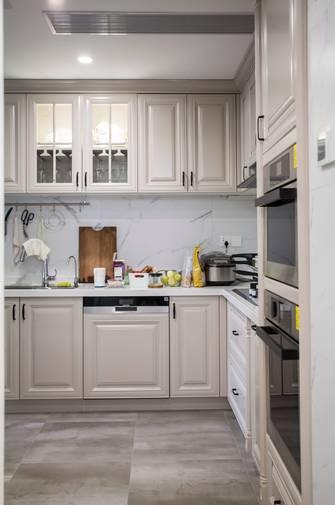 豪华型140平米四室两厅美式风格厨房设计图