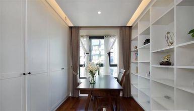 5-10万120平米三室两厅混搭风格书房欣赏图