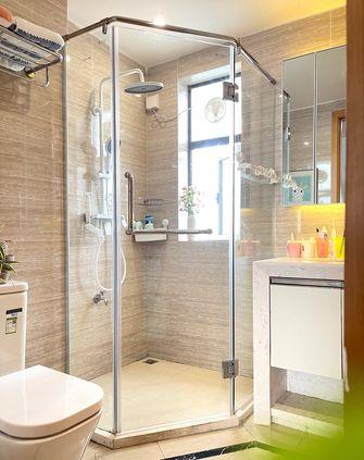 5-10万100平米三室两厅北欧风格卫生间图片