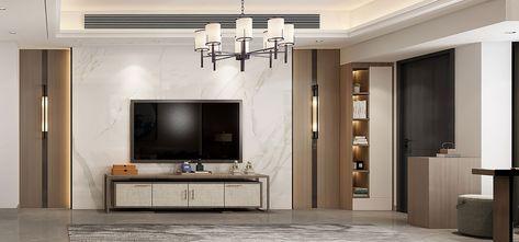 20万以上130平米四中式风格客厅装修案例