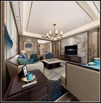 140平米四中式风格客厅图片大全