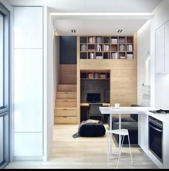 30平米小户型现代简约风格楼梯间效果图