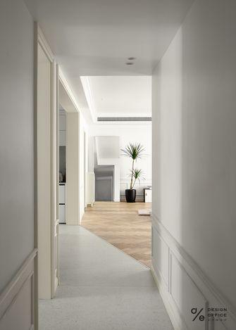 富裕型140平米三室两厅法式风格走廊装修图片大全