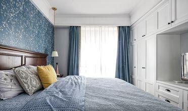 100平米三室一厅地中海风格卧室设计图