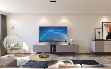 5-10万30平米小户型现代简约风格客厅图