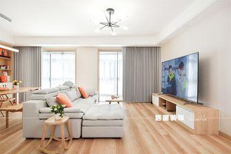 富裕型120平米四室两厅日式风格客厅图