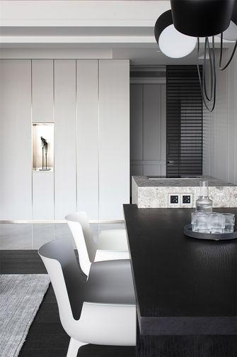 富裕型140平米四现代简约风格餐厅图片