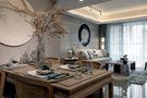 富裕型100平米三室一厅中式风格餐厅图片大全
