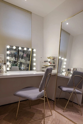 15-20万120平米三室一厅混搭风格梳妆台装修图片大全