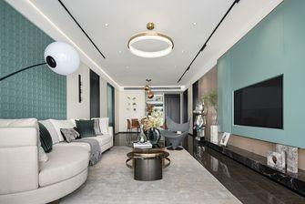 富裕型110平米三室两厅欧式风格客厅图片