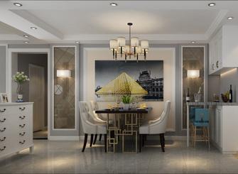 富裕型100平米三室两厅欧式风格餐厅设计图