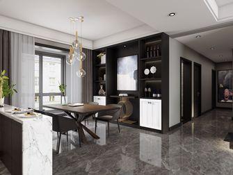 富裕型140平米四室两厅现代简约风格餐厅图片大全