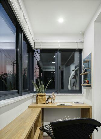 10-15万一室一厅北欧风格阳台图