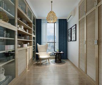 豪华型130平米四室两厅欧式风格书房设计图