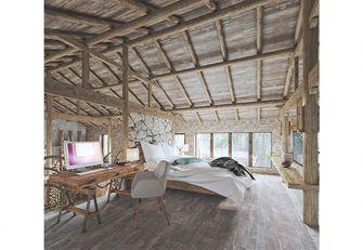 富裕型复式田园风格卧室装修效果图