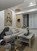 3-5万30平米以下超小户型现代简约风格客厅设计图