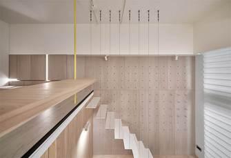 20万以上30平米小户型现代简约风格楼梯间设计图