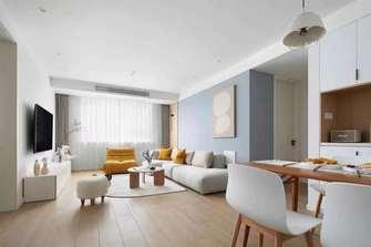 经济型120平米三室两厅现代简约风格客厅图