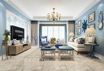 三室两厅地中海风格客厅设计图