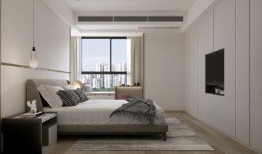 富裕型140平米四现代简约风格卧室图