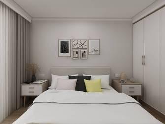 富裕型80平米公寓北欧风格卧室图片