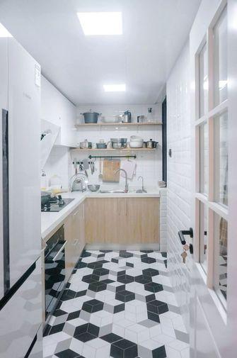 5-10万110平米三室两厅北欧风格厨房装修效果图
