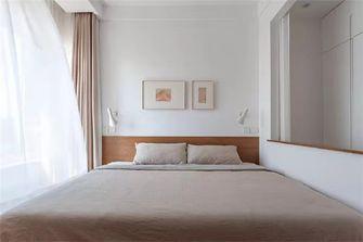 经济型100平米三室一厅田园风格卧室图片大全