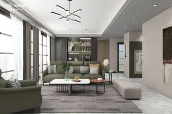 140平米四室两厅轻奢风格客厅欣赏图