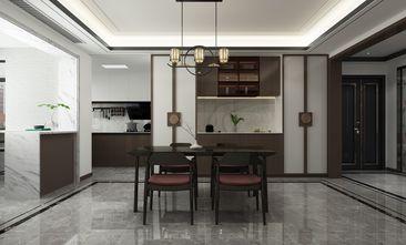 140平米三室三厅中式风格餐厅图