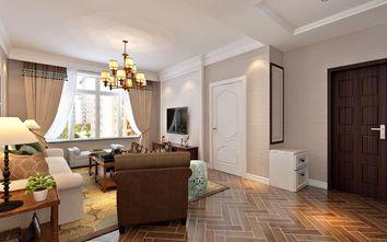 15-20万90平米三室两厅田园风格客厅欣赏图