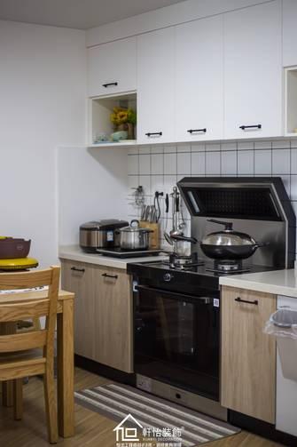 富裕型60平米一室一厅北欧风格厨房装修案例