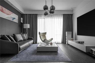 豪华型130平米四室两厅现代简约风格客厅图