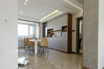 15-20万110平米三室两厅轻奢风格餐厅图片